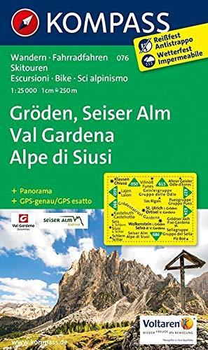 Gröden: Seiser Alm / Val Gardena: Alpe di Siusi