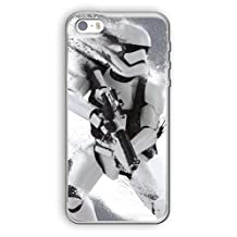 """iPhone 6/6s (4.7"""") Star Wars Silicone Phone Case / Gel Cover for Apple iPhone 6S 6 (4.7"""") / Screen Protector & Cloth / iCHOOSE / Stormtrooper Splatter"""