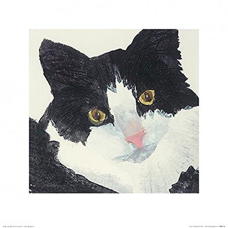 1art1 Gatos - Nosey, Julia Burns Póster Impresión Artística (40 x ...