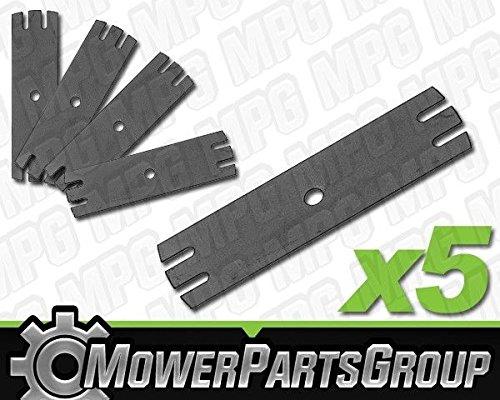 - MowerPartsGroup P469 (5) Edger Blades 9