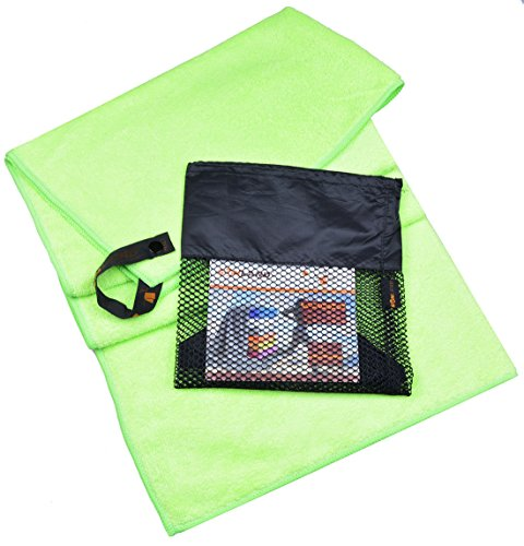 Sinland Ultra Absorbent Travel Towels Fast Drying Microfiber Sports Towel Bath Gym Towels 20inch X 401inch