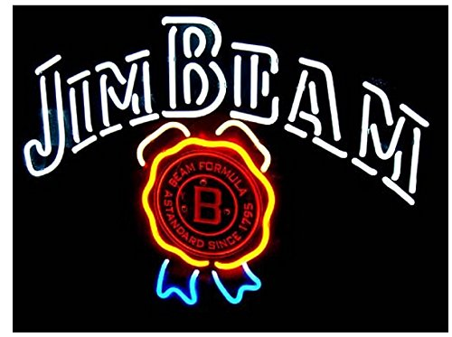 Fashion Neon Jim Beam Distillery Formula Since 1795 Real Glass Tube Neon Signs Handcrafted Bulbs Beerbar Shop Display Neon Sign19x15!!!Best Offer!