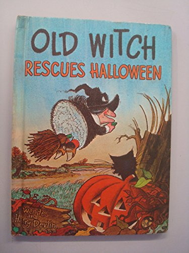 Old Witch Rescues Halloween -