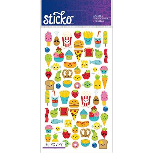Food Scrapbook - Sticko Classic Mini Food Characters Stickers
