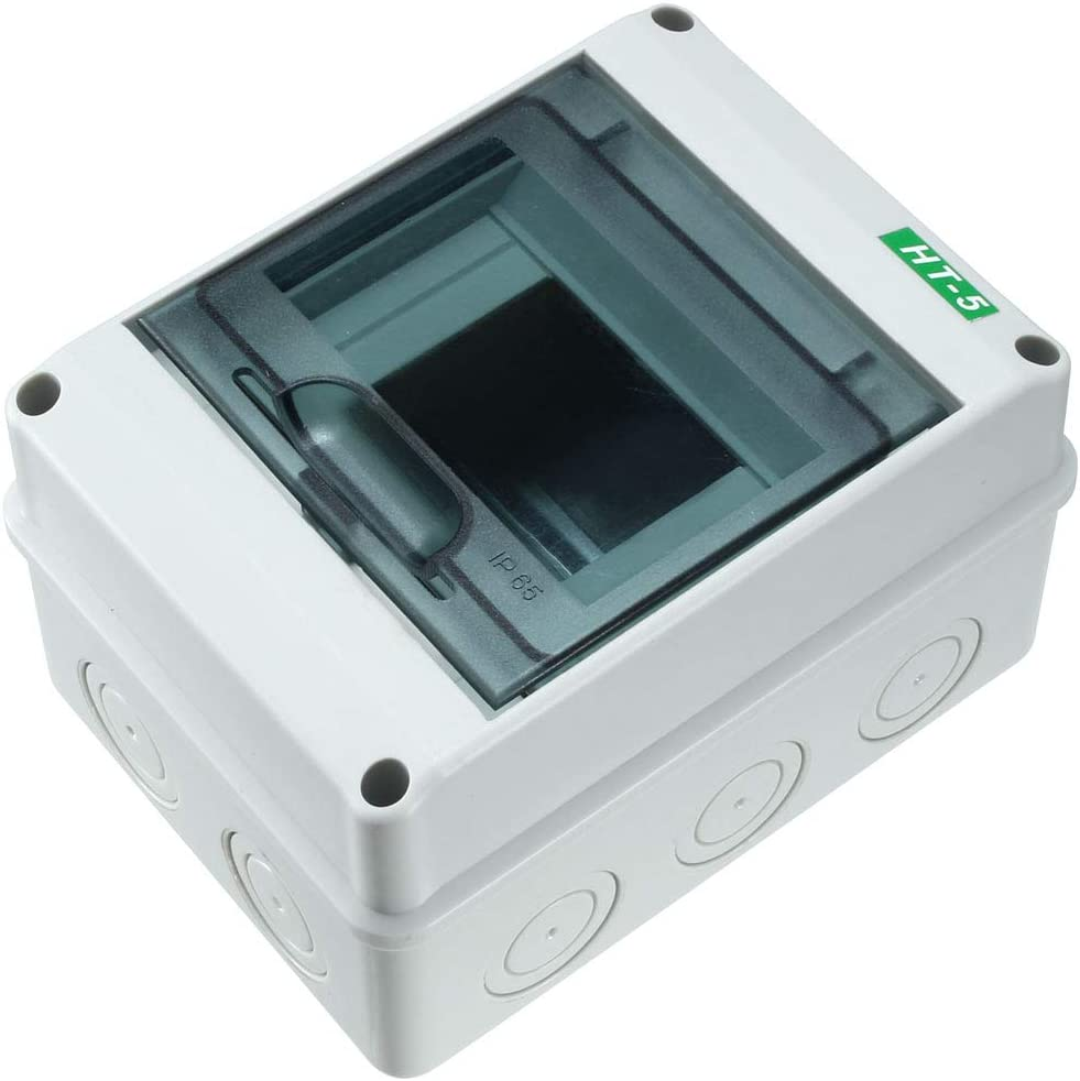 8Way Plastic Distribution Box Waterproof Switch Box for Circuit Breaker