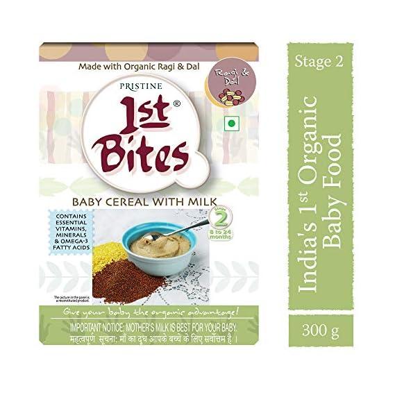 1st Bites - Ragi & Dal (8 Months - 24 Months) Stage - 2, 300g