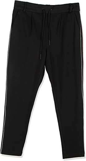 Only Comfort Fit Pant for Women, Size S, Black- 15167322
