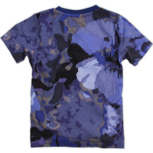 Transformers Little Boys Summer Short Sleeve Printing Pure Cotton Tees T Shirts,Gray Blue,5-6Y
