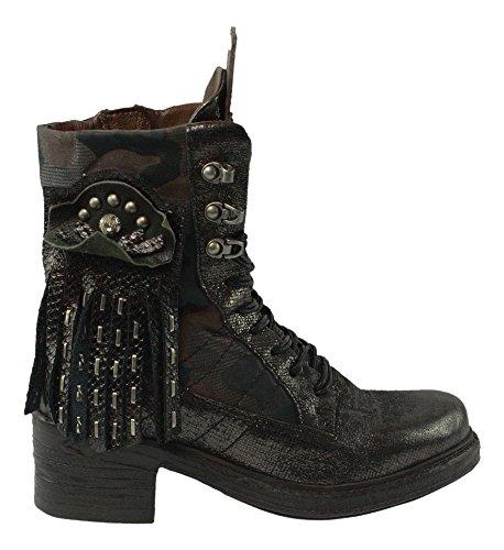 A.S.98 Airstep | Schnür Stiefelette - schwarz | nero, Farbe:schwarz;Größe:36