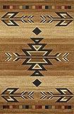 "Dean Santa Fe Beige Lodge Cabin Southwestern Ranch Area Rug 7'10"" x 9'10"" (8×10) Review"