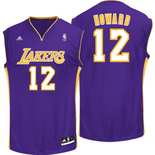 87c4c499d93 80%OFF NBA adidas Dwight Howard Los Angeles Lakers Revolution 30 Replica  Performance Jersey -