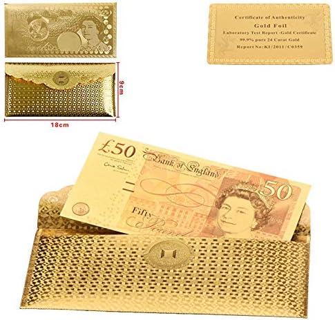 HENGTONGTONGXUN WRラグジュアリーホームデコレーションゴールド紙幣品質世界のお金のためにお土産ユニークなフェイクお金の価値コレクションオリジナルサイズ 使いやすい (色 : STYLE1)