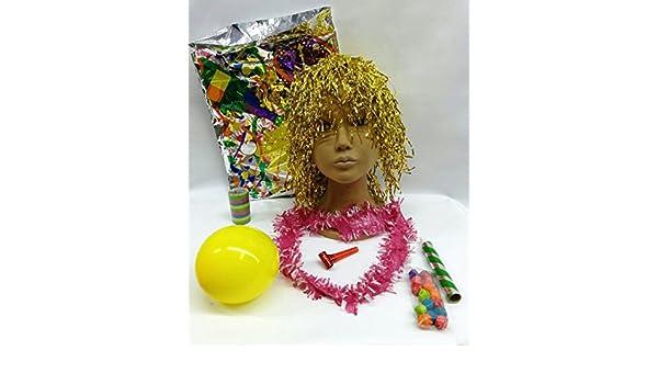 Pack 10 Bolsas DE Cotillon con Peluca para Fiestas DE Noche ...