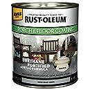 Rust-Oleum 244848 Porch Floor Paint, Dove Gray Gloss, 1-Quart