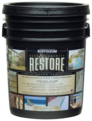 Rust Oleum 49504 Deck Concrete 4 Gallon