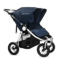 Bumbleride 2016 Indie Twin Stroller in Maritime Blue