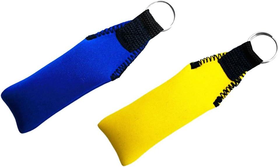 Angeln, Segeln 2pcs Neopren Schlüsselanhänger Schwimmend für Bootfahren