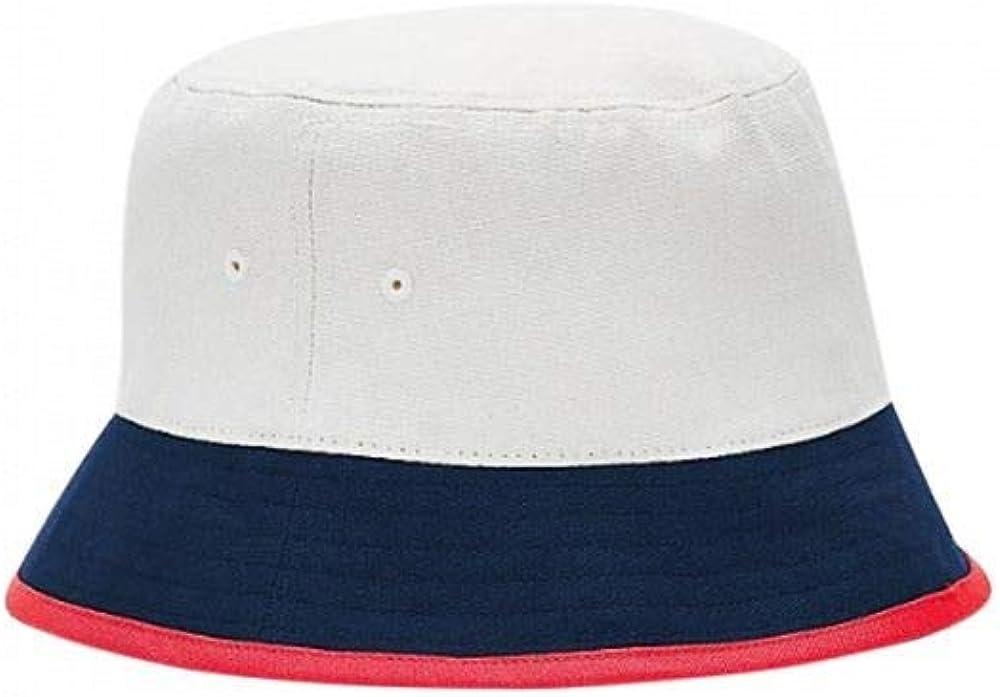 Marrone Chiaro//Blu Navy Cappello da Pescatore Tommy Hilfiger Tjm Heritage Colore