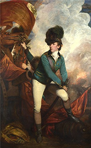 'Sir Joshua Reynolds Colonel Tarleton ' Oil Painting, 12 X 20 Inch / 30 X 50 Cm ,printed On High Quality Polyster Canvas ,this High Definition Art Decorative Canvas Prints (Storybook Halloween Costumes Teachers)