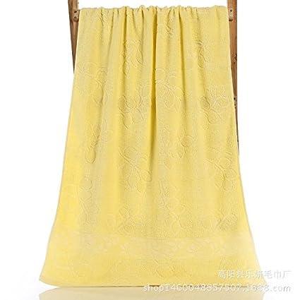 ybfq 32 compartir algodón de hojas de lino toalla de baño de 70 * 140 cm