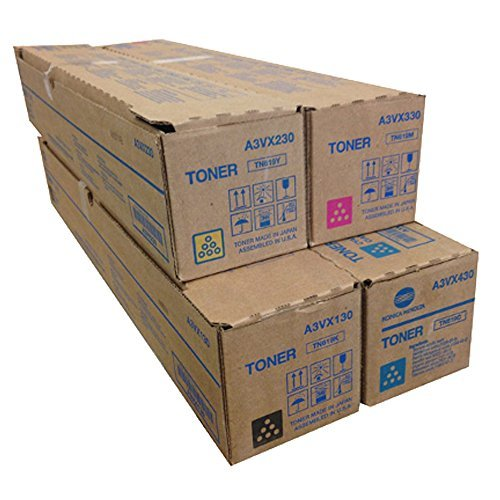 Konica Minolta TN-619 Standard Yield Toner Cartridge Set
