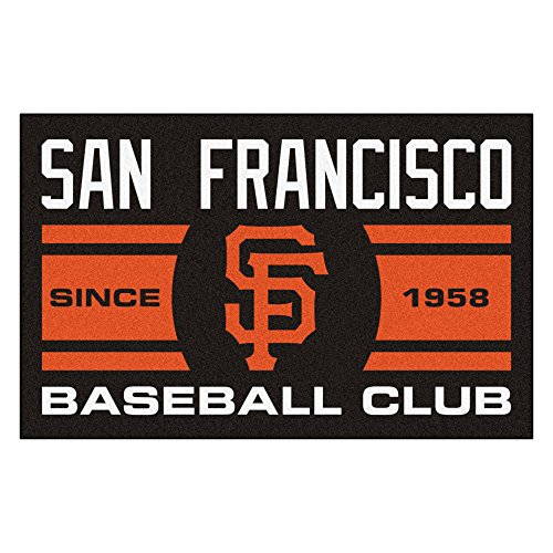 (MLB San Francisco Giants Starter Mat Rectangular Area Rug)