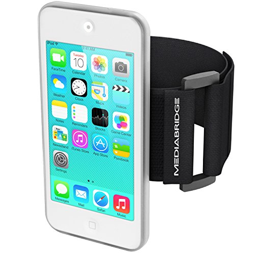 Mediabridge Armband for iPod Touch - 5th / 6th / 7th Generation (Clear) - Model AB1 (Part# AB1-IPT5-CLEAR)