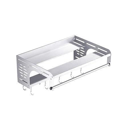 Aluminio Espacio Microondas Estantería De Metal Horno Montado En ...