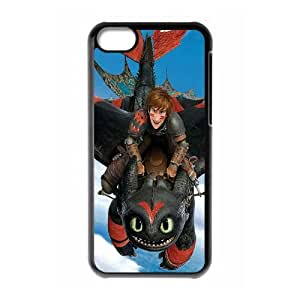 LSQDIY(R) toothless dragon iPhone 5C Case Cover, Customized iPhone 5C Cover Case toothless dragon