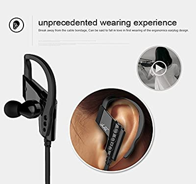 4YOU&ME, Deluxe High Quality Model 2016, Wireless Bluetooth V4.1 Headset, Hands Free Headphones, Noise Cancelling Earbuds for iPhone 6, Galaxy S6, Android Phones