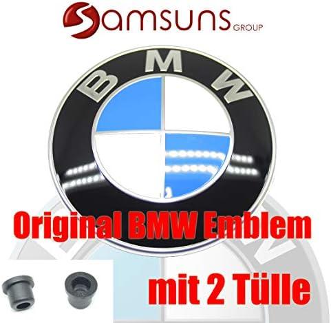 Bmw New Echtes 82mm Vorne Motorhaube Kapuze Emblem 51148132375 Auto