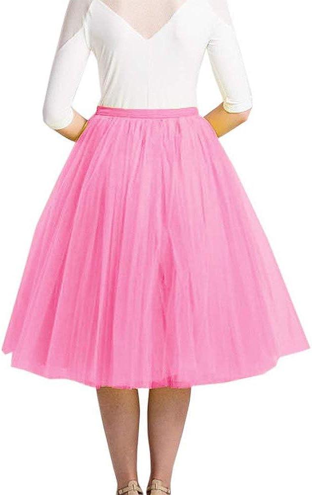 Minetom Mujer Niña Faldas Cortas Tubo Moda Suave Gasa Mini Falda ...