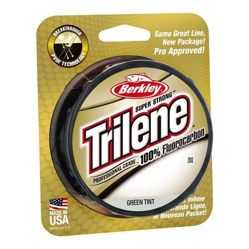 (Berkley Trilene Fluorocarbon Professional Grade Filler Spool Fishing Line, Green, 12 lb./200 yd.)
