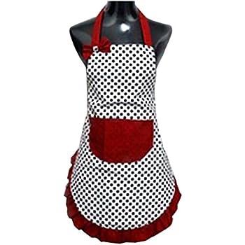 Amazon.Com: Hyzrz Women Apron, Pink: Kitchen Aprons: Kitchen & Dining