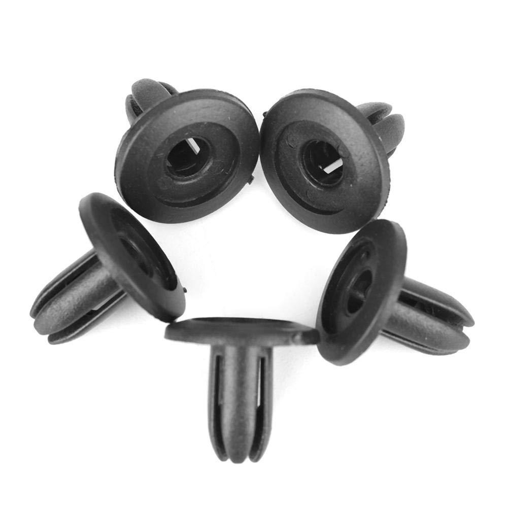 Clip per auto Fydun Rivetti per auto Fissaggio Parafango Paraurti Clip di spinta 100Pz 8mm Foro nero per AP