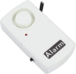 Power Failure Alarm, Automatic Power Cut Failure Alerter LED Indicator Smart 120db Outage Alarm Warning Siren, 220V