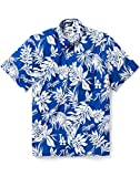 Reyn Spooner Men's Los Angeles Dodgers MLB Classic Fit Hawaiian Shirt, Aloha 2019, Small