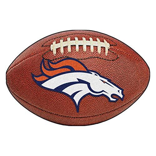- FANMATS NFL Denver Broncos Nylon Face Football Rug