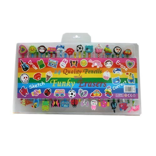 Funky Erasers - 5