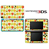 Lemon Apple Pear Orange Fruit Pattern Decorative Video Game Decal Cover Skin Protector for Nintendo 3Ds (not 3DS XL)