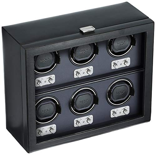 - WOLF 270702 Heritage 2.1 Six Watch Winder with Cover