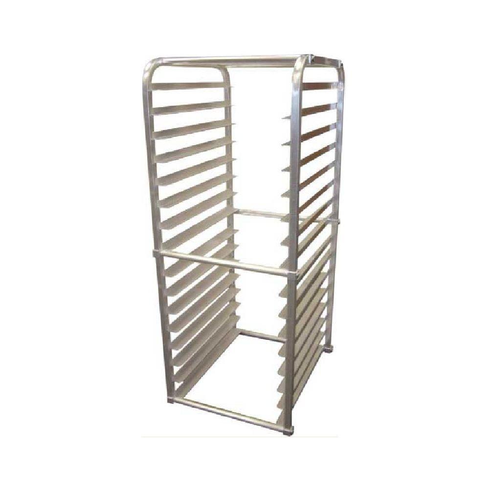 Win-Holt AL-1816-IR-K Aluminum End-Loading Full Size Insert Rack