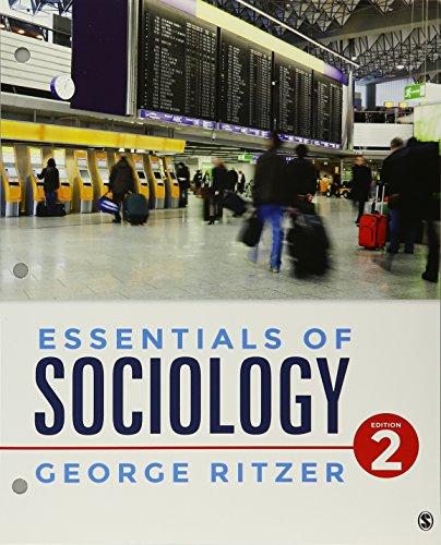 BUNDLE: Ritzer: Essentials of Sociology 2e (Loose-Leaf) + Ritzer: Essentials of Sociology Interactive eBook 2e