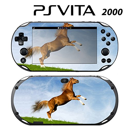 Decorative Video Game Skin Decal Cover Sticker for Sony PlayStation PS Vita Slim (PCH-2000) - Dancing Horse -  Decals Plus, PV2-AN26