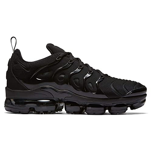 75a2dba70dfa Nike Air Vapormax Plus, Scarpe Running Uomo, Nero Black/Dark Grey 004,
