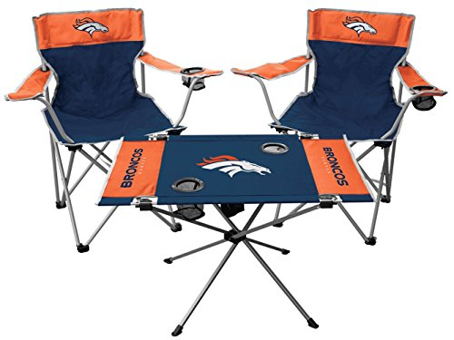(Rawlings NFL Denver Broncos Tailgate Kit, Team Color, One Size)