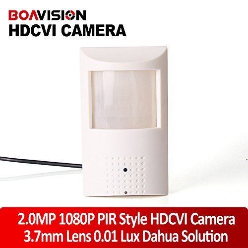 New arrivals 1/2.9'' HD 1080P CCTV HDCVI Camera 2mp 1920x1080 PIR Style Motion Detector 3.7mm 0.01 Lux For CVR DVR
