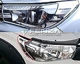 Fenza Chrome Headlight Trim Cover Set for Toyota