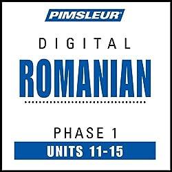Romanian Phase 1, Unit 11-15