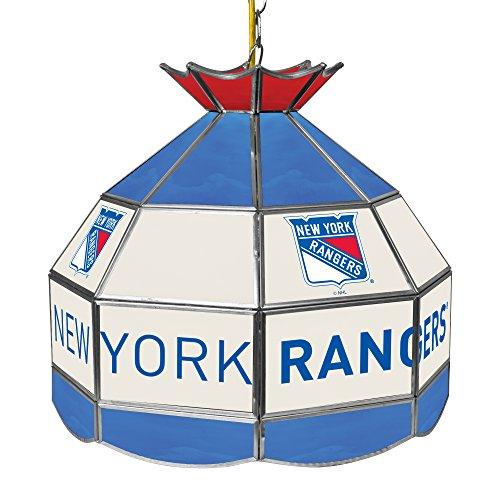 York Hanging Lamp - Trademark Gameroom NHL New York Rangers 16